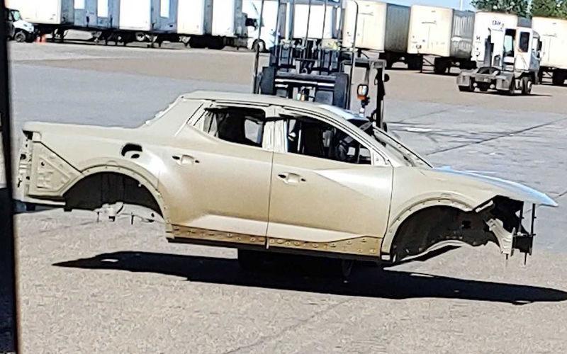 Hyundai готовится представить свой первый пикап