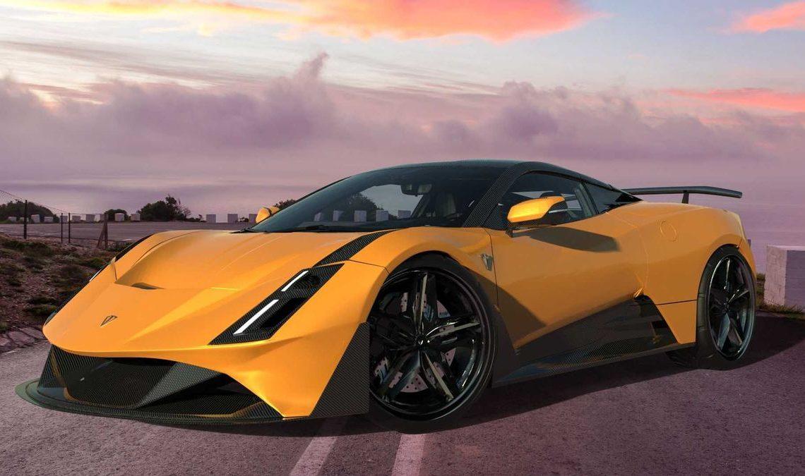 Дизайнер из Албании решил построить 850-сильный суперкар