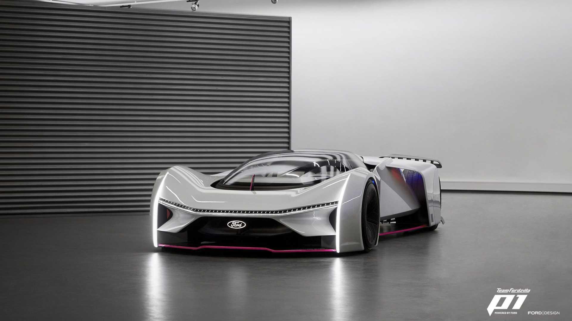 Ford представил виртуальный суперкар Fordzilla P1